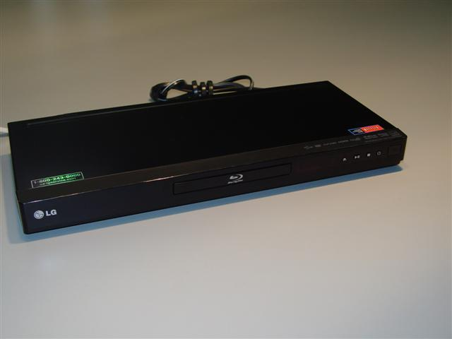 LG Blu Ray Player