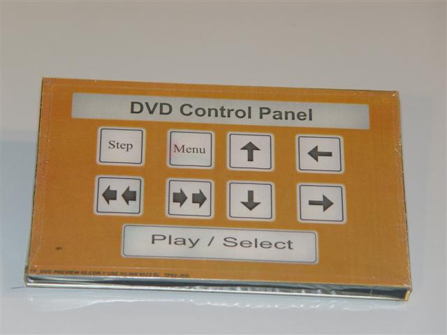 Touchpad DVD Control